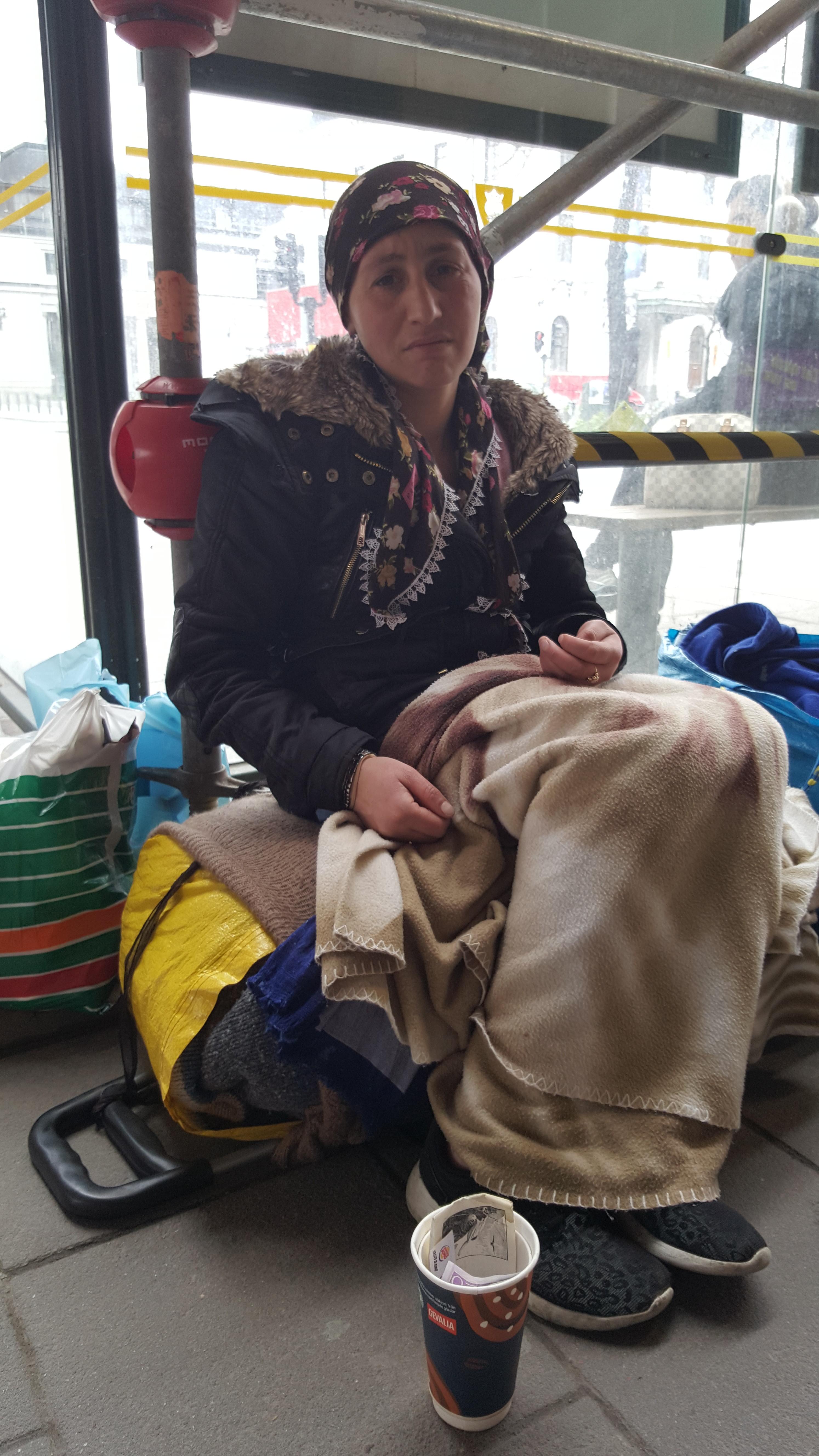 Maria har blivit utkörd från centralstationen