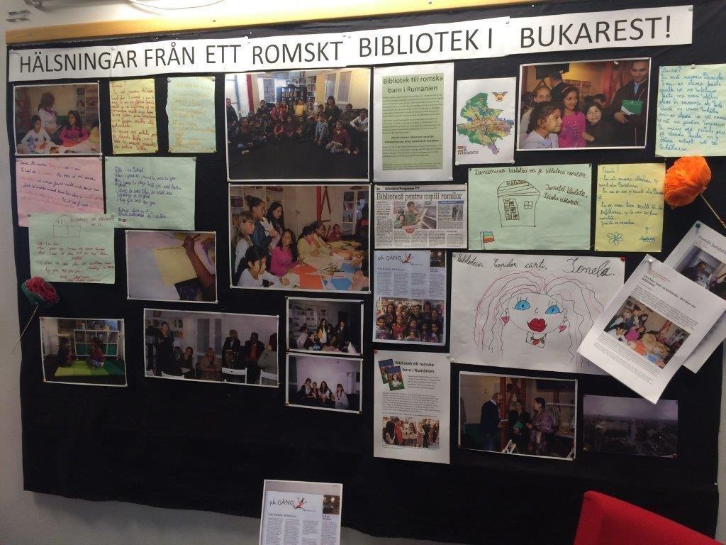 Utställning om biblioteket i Bukarest