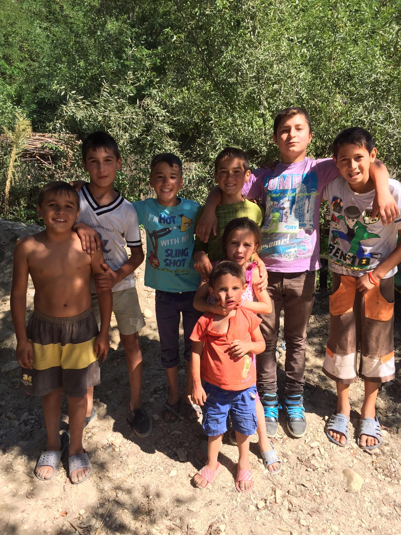 Barn från Păuleasca